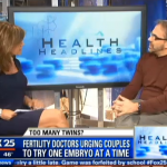 Fox News Boston | Single Embryo Transfers | FCNE